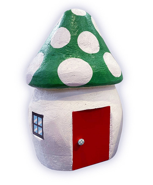 Toadstool House Green Roof  (1 x 0.65m)