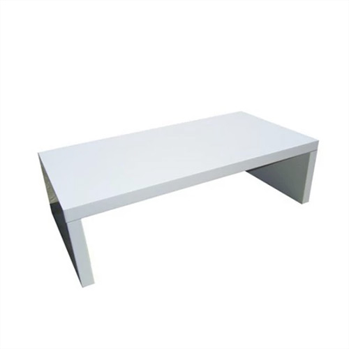 Table Coffee White Bank. 1200mm x 600d x 350h.