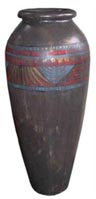 (k) Urn Egyptian (1.3m high)
