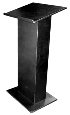 (f) Lectern Black Wooden (H1.26m)