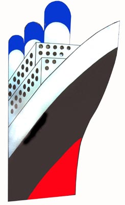 Cruise Ship Cutout (2.4m)