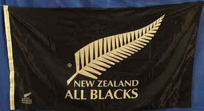 New Zealand All Blacks (1.5m x 0.9m) [mat=polyester] [x=2]