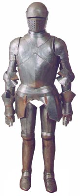 Suit Of Armour Metal  H 176cm