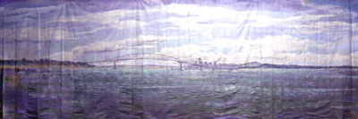 Auckland Harbour Day (8m x 3m)