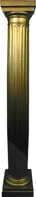 Column (j) Doric Plastic Gold (2.1m) 4 in stock