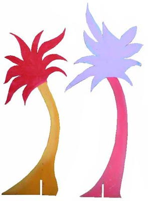 Palm Tree Dr Suess Small (1.58m x 0.68m) [x=5]