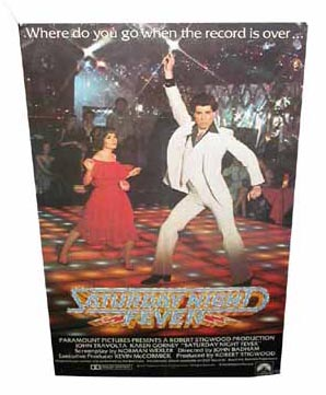 Saturday Night Fever Poster (1960s/1970s)