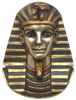 Tutankhamen Head - Wall Hung (H30cm)