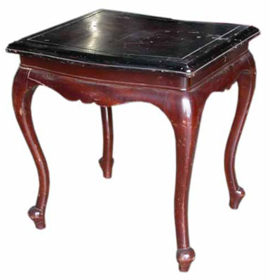 Occaisional Table #018 Dark Wood (H47cm W44cm D40cm)( x 2 )