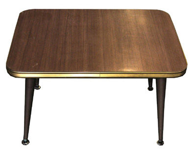 Formica Coffee Table #035 Wood Grain Small (H41cm D39cm W60cm)