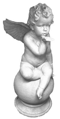 Cherub Blowing a Kiss (0.7m) Total stock=2