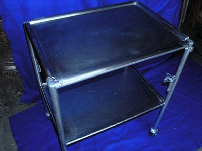 Hospital Medical Instrument Trolley # 4  (H87cm W68cm D49cm)