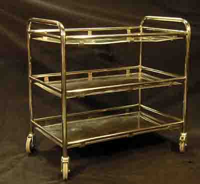 Hospital Medical Instrument Trolley # 2  (H85cm  W86cm  D52cm)