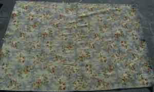 Rug Floral Grey /Red/Green/Cream (2m x 2.6m)