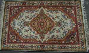 Persian Red/Yellow/Beige Design (1.05m x 1.65m)