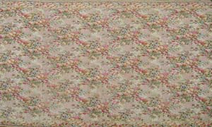 Rug Floral Yellow/Cream/Green Design (4.1 x 3.16m)