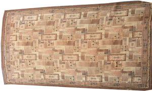 Rug Cubist 70s Cream/Brown (2.8m x 3.2m)