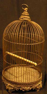 Birdcage #10 Ornate Round Small (H0.6m x D0.4m)
