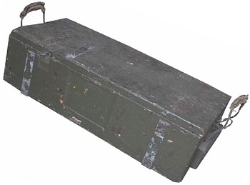 Military Box #02 (0.6m x 0.3m x 0.2m) 4 available