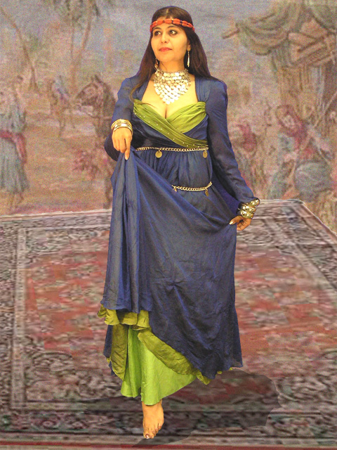 arabian princess first scene nzs largest prop