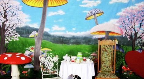 alice in wonderland umbrella alice in wonderland first scene nzs largest prop costume