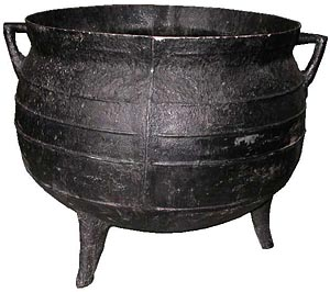 Cauldron Large Fibreglass (H65cm x D70cm)