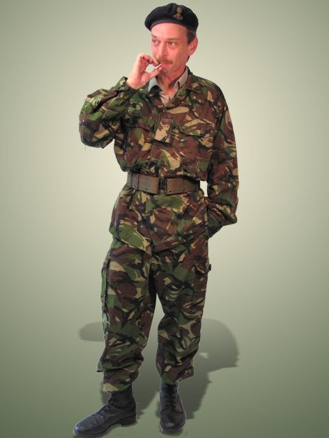 Army Green Camo Summer Uniform