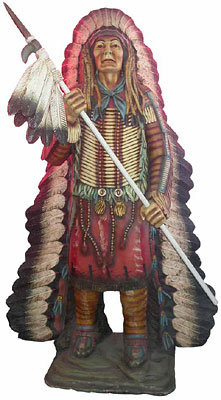 Indian Chief Statue (2m)