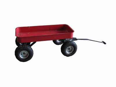Little Red Wagon (0.9 x 0.5 x 0.4)