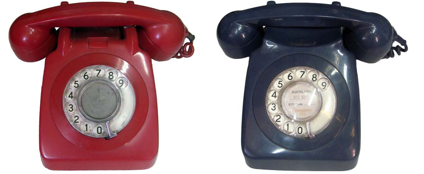 Rotary Dial Phones. Assorted Colours - 27 available.