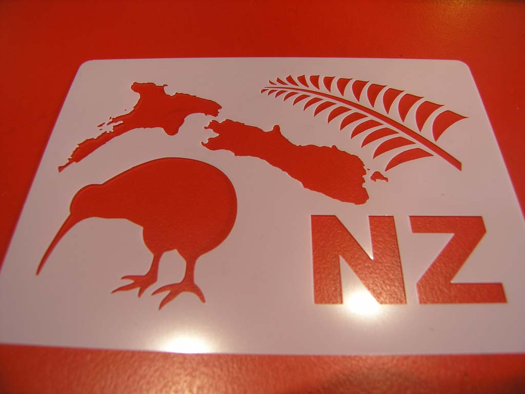 NEW ZEALAND FACE PAINTING STENCILS