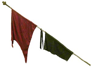 Spear With Pennants
