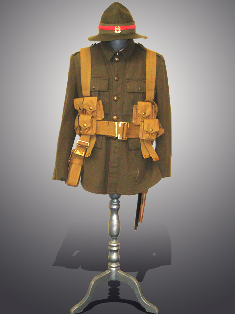 WW1 Uniform With Webbing