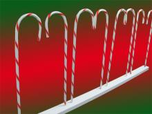 Short Candy Cane Fence Base  L 1.4 H 0.85 (2 available)