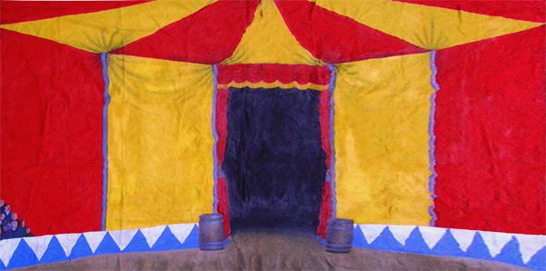Circus Tent Interior (6m x 3m) & Circus Tent Interior (6m x 3m) - First Scene - NZu0027s largest prop ...