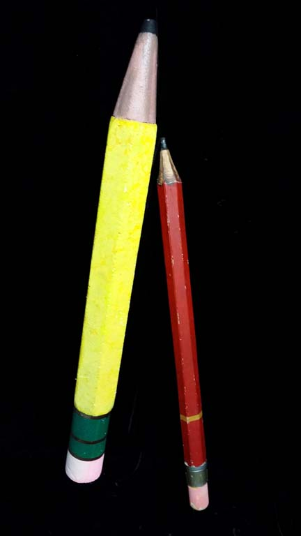 Giant Yellow Pencil (1.44m)