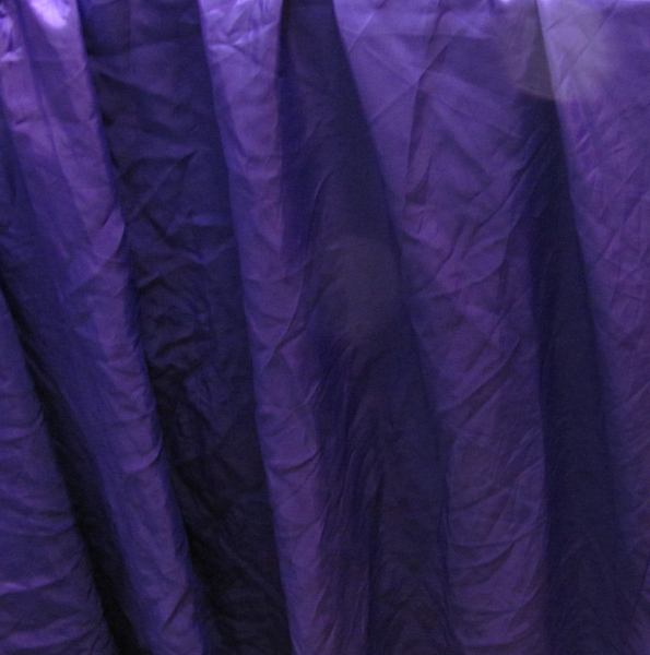 Curtain Silk Purple Large (10.5m x 3.7m)