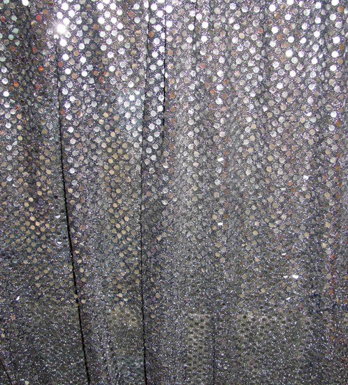 Curtain Sequin Silver (3.5m x 4m) [d]