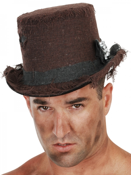 Distressed Top Hats