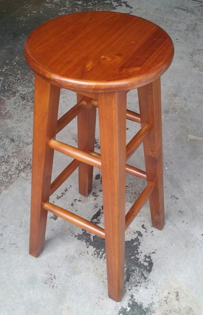 Bar Stools Wooden (70cm tall)