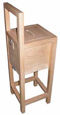 Ballot Box Wooden