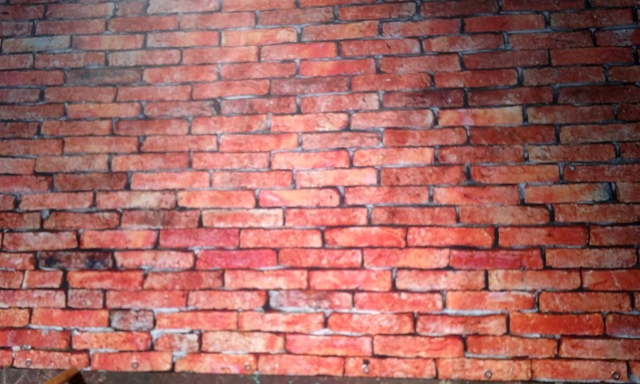 Brick Wall Backdrop (4m x 2.5m)