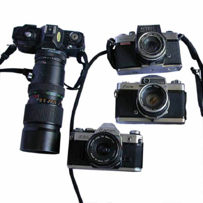 Photographic Cameras Assorted