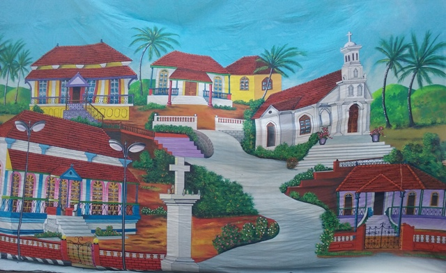 Carribean Village  (6.6m x 4.9m)