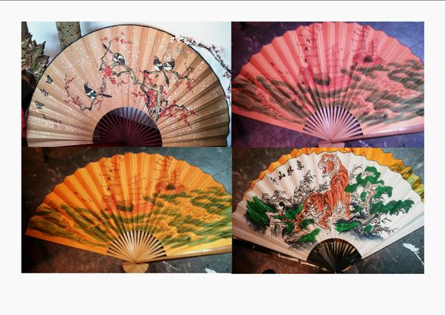 Fans Oriental Assorted. (7 in stock)