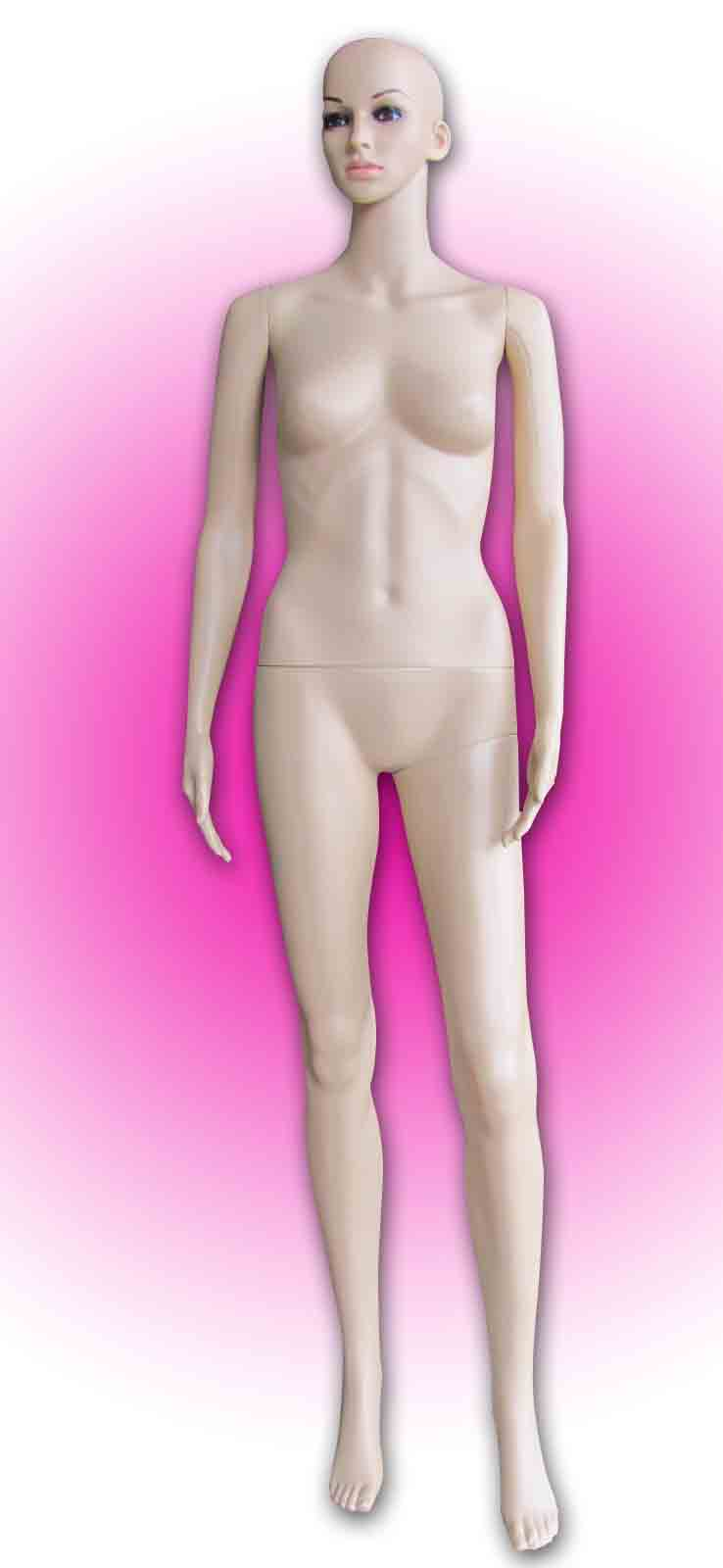 #20 Female Mannequin Full Plastic (H:1.6)