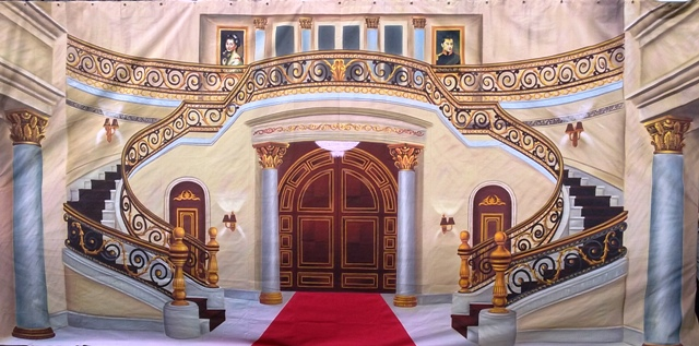 Mansion Interior  Backdrop (6 x 3m)