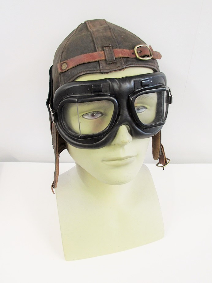 Flying Helmet & Goggles