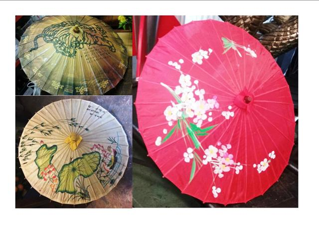Parasols Oriental Assorted