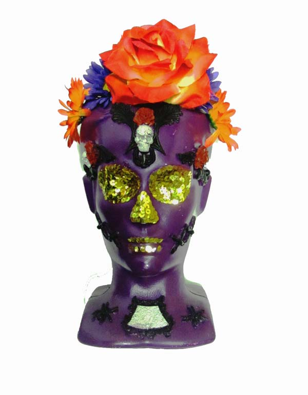 Katalina Day Of The Dead Head Purple